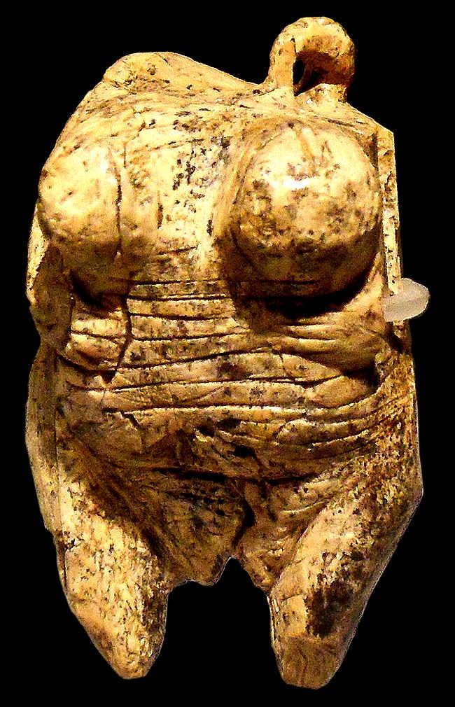 Venere di Hohle Fels - avorio, 35000 anni fa